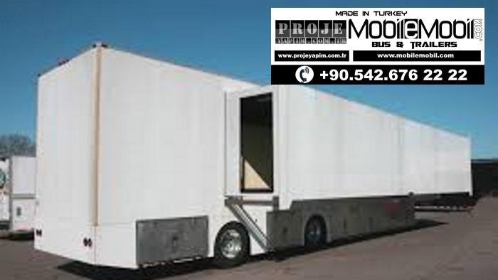 mobile meeting truck trailer