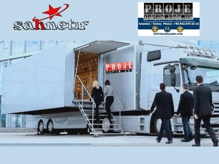 Mobile Showroom Truck Trailer