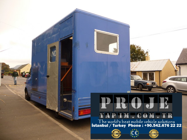 Mobile Bank truck trailer
